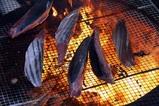 那珂湊カツオ祭り(5)カツオ藁焼き