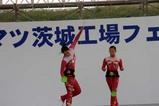 コマツ茨城工場フェア(2)中国雑技団コマ回し