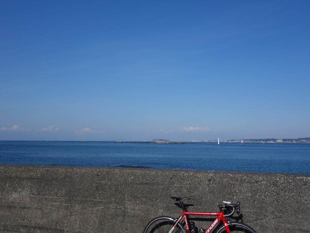 葉山町一色海岸まで : ケントサイクル