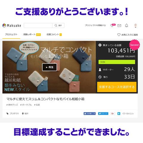 Makuake100%達成-1