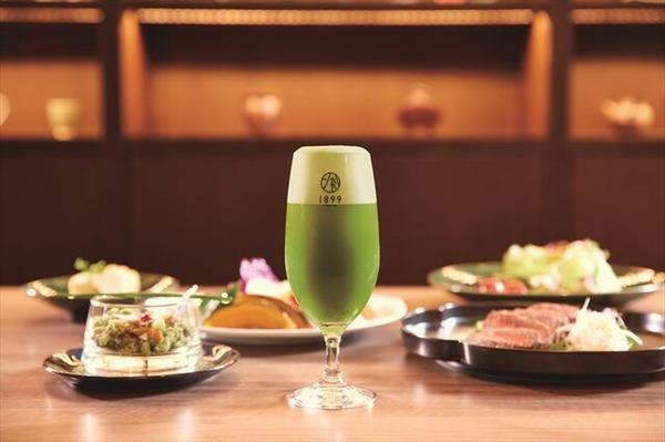 龍名館抹茶ビール