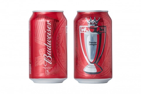 バドワイザープレミアリーグ缶
