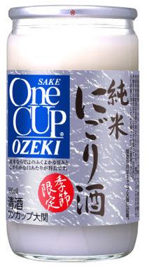 ワンカップ純米にごり酒