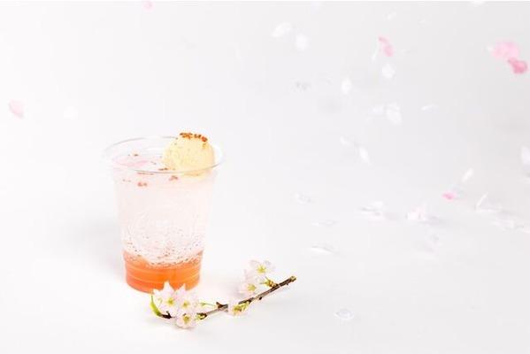 梅桜クリームソーダ