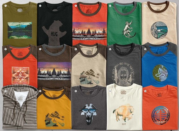 prAna 2016 Summer...Men's Tops