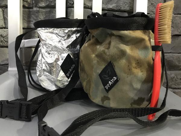 PRANA NEW Bouldering Bucket Bag & Chalk bag...