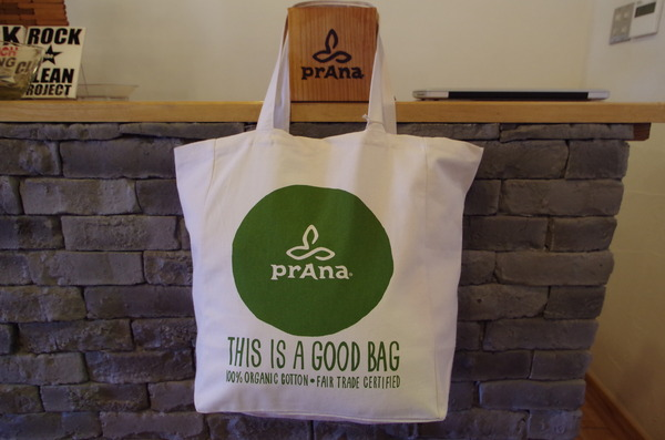 prAna...Organic cotton Toto Bag