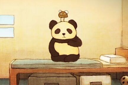 きのこパンダ