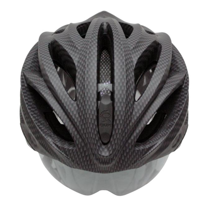 自転車の かっこいい自転車ヘルメット : フライトヘルメットのような開 ...