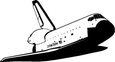 space-shuttle 物心がついたころから常にかっこいい存在であったスペースシャトル。打ち