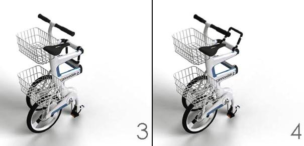Folding Grocery Shopping Carts