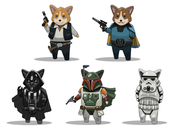chuckstin-star-wars-welsh-corgis