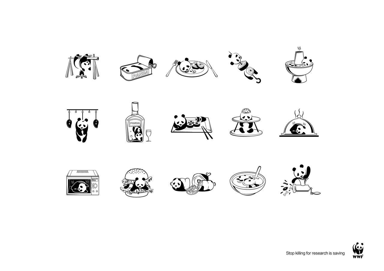 wwfのパンダがとても大変なことに・・・いろいろシュールすぎる : きよ