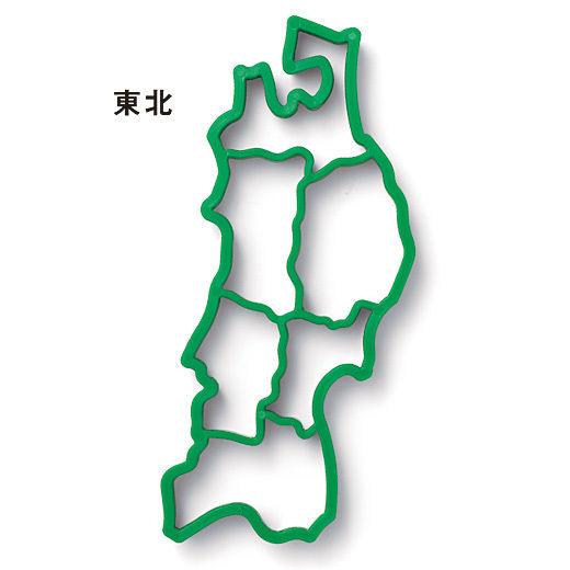日本 日本地図 東北地方 : 日本地図を作ろう! 日本列島 ...