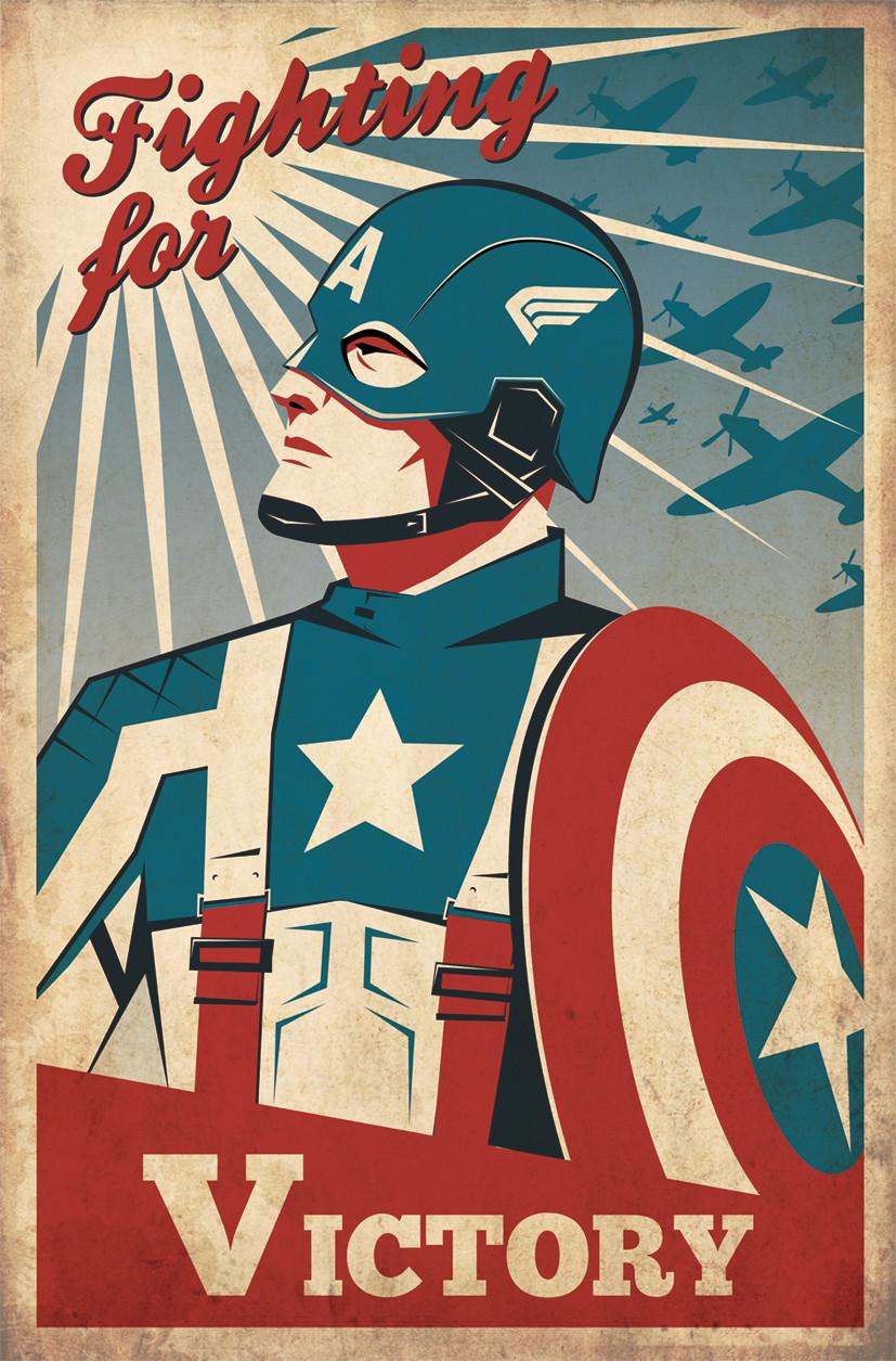 tumblr_mmi2ymSoWC1qd9jlto1_1280 クラシックなキャプテン・アメリカ