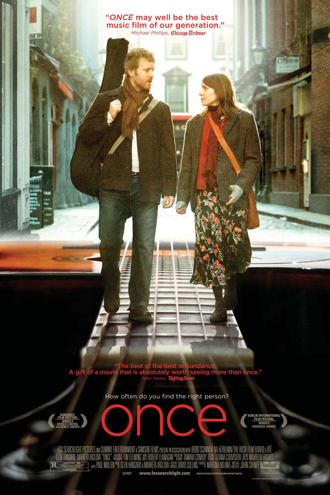 once ダブリンの街角で  【映画的カリスマ指数】★★★★☆ ひとときが生んだ恋、音楽が生んだ
