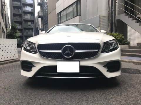 MB E-class 正面