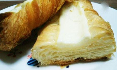 北海道クリームチーズのデニッシュ