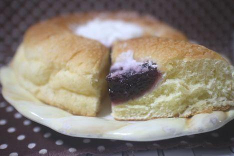ブルーベリー&レアチーズ風味ホイップ