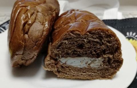 コッペパン(チョコミント)【ファミリーマート】