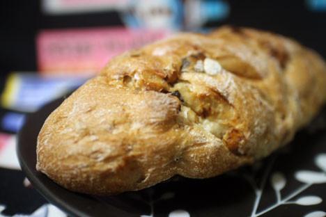 くるみとレーズンのパン
