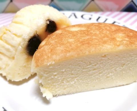 チーズリッチ蒸しケーキ ラムレーズン入