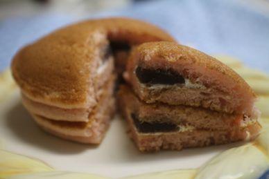 桜香るパンケーキ(桜あん&ホイップ)