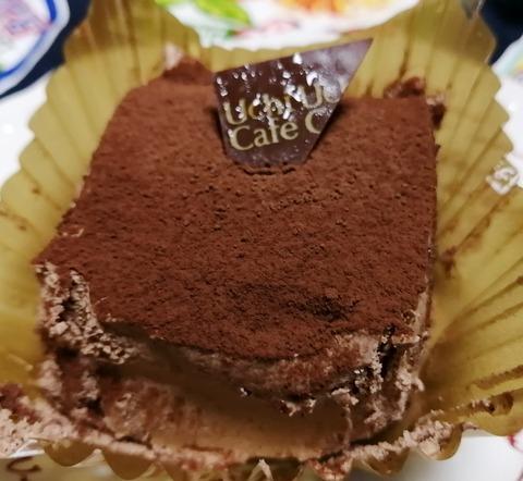 スペシャルショコラケーキを包んだブッシュドノエル