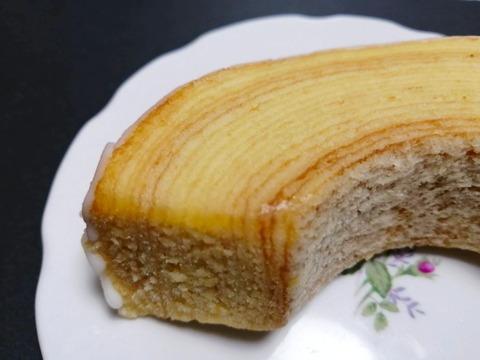 冷やして食べるしっとり食感のバウム【ファミリーマート】