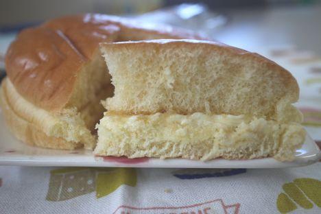 ホットケーキみたいなパン