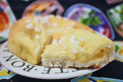ザクザク食感のカスタードメロンパン