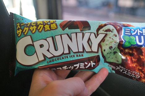 クランキーアイスバーチョコチップミント【ロッテ】