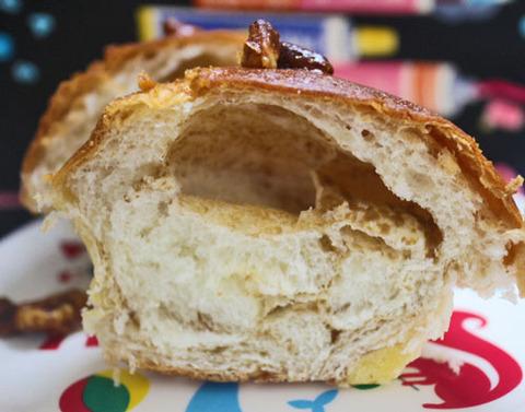 メープルの香り広がるくるみブールパン