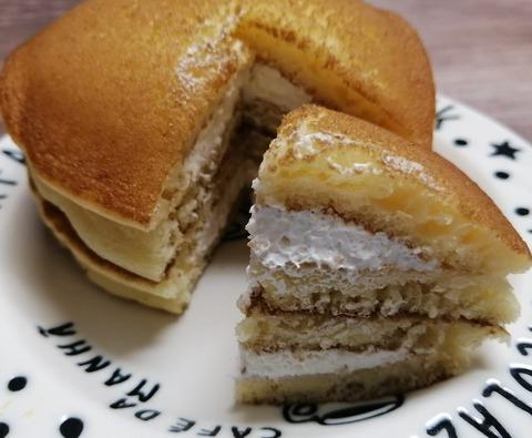 北海道クリームチーズパンケーキ【セブンイレブン】