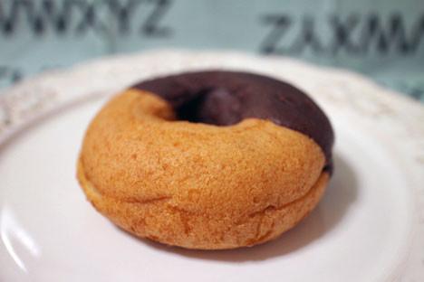 ポムドーナツ(チョコクッキーホイップ)