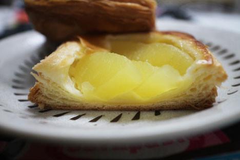 りんご&カスタードのデニッシュ