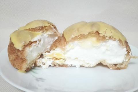 チーズ&レモンのシュークリーム【ローソン】