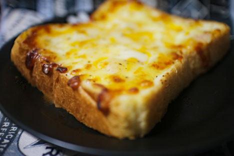 とろ~り3種チーズのクロックムッシュ
