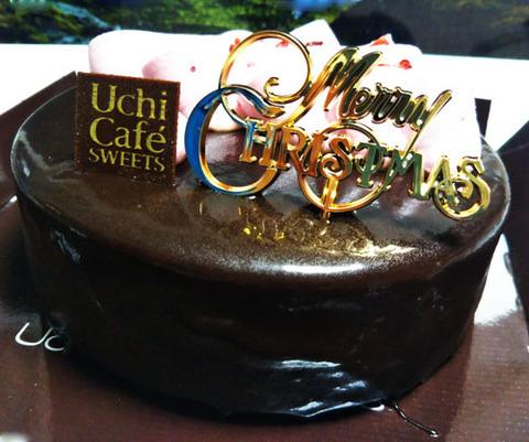 ルビーチョコレートのショコラケーキ【ローソン】