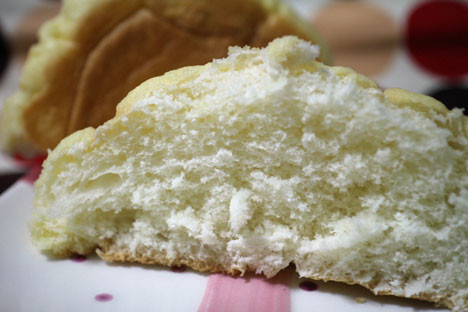 こだわり小麦のメロンパン