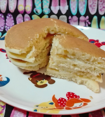 もっちりパンケーキ メープル&マーガリン