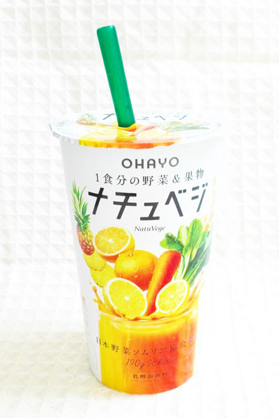 1食分の野菜&果物ナチュベジ【オハヨー】