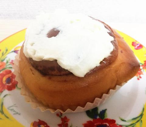 チーズクリームのシナモンロール【セブンイレブン】