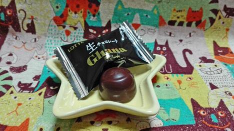 【ロッテ】ガーナ 生チョコレート ブラック