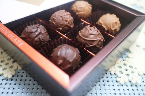 モロゾフ トリュフチョコレート