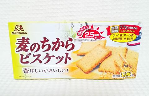 麦のちからビスケット【森永製菓】
