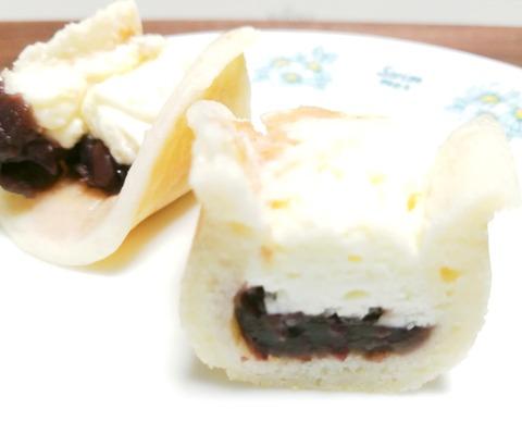 もちっとどら粒あん&チーズクリーム【セブンイレブン】