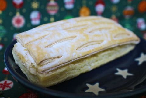 バター香るカスタード&ホイップパイ【セブンイレブン】
