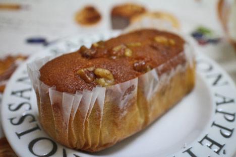 ブランのくるみパウンドケーキ