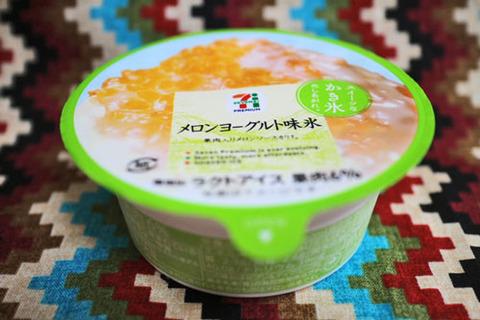 メロンヨーグルト味氷【セブンプレミアム】